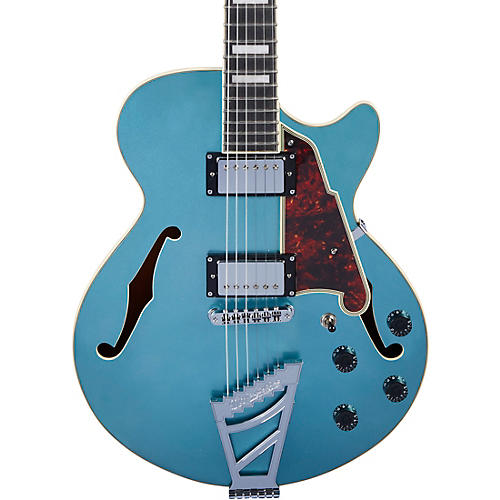 D'Angelico Premier SS Semi-Hollow Electric Guitar with Stairstep Tailpiece Ocean Turquoise