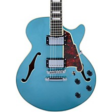 Premier SS Semi-Hollow Electric Guitar with Stopbar Tailpiece Ocean Turquoise