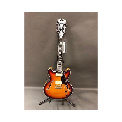 D'Angelico Premier Series Boardwalk P90 Hollow Body Electric Guitar