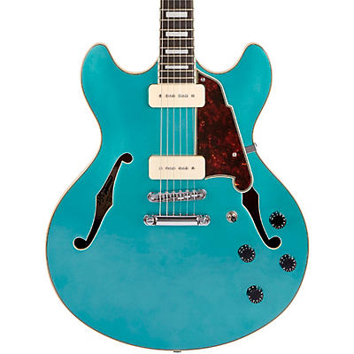 D'Angelico Premier Series DC Boardwalk Semi-Hollow Electric Guitar with Seymour Duncan P90s