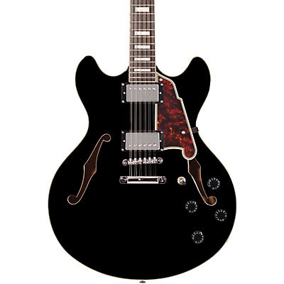 D'Angelico Premier Series DC Semi-Hollow 12-String Electric Guitar Stopbar Tailpiece
