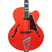 Premier Series EXL-1 Hollowbody Electric Guitar with Stairstep Tailpiece Fiesta Red