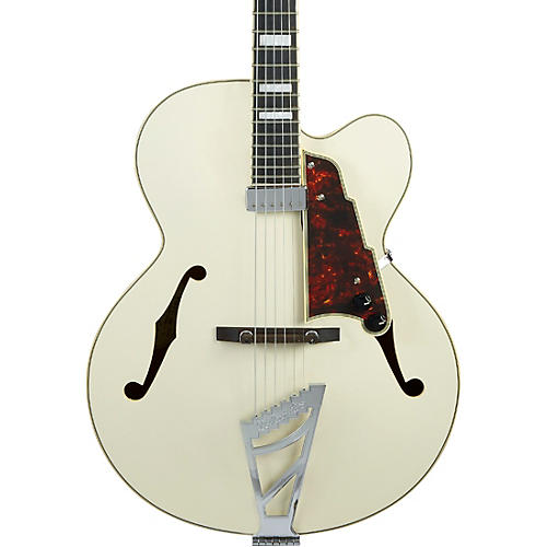 D'Angelico Premier Series EXL-1 Hollowbody Electric Guitar with Stairstep Tailpiece Condition 1 - Mint Champagne
