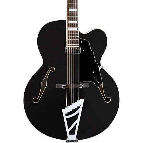 D'Angelico Premier Series EXL-1 Hollowbody Electric Guitar with Stairstep Tailpiece Condition 2 - Blemished Black 190839673787