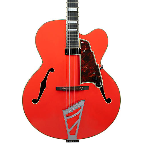 D'Angelico Premier Series EXL-1 Hollowbody Electric Guitar with Stairstep Tailpiece Condition 2 - Blemished Fiesta Red 194744173592