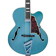 Premier Series EXL-1 Hollowbody Electric Guitar with Stairstep Tailpiece Ocean Turquoise