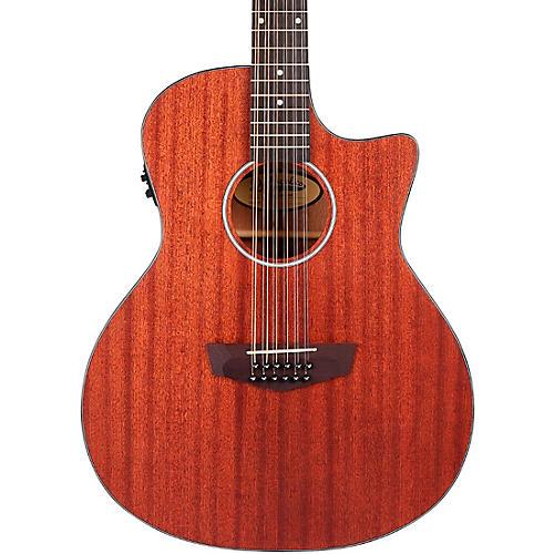D'Angelico Premier Series Fulton LS Cutaway Grand Auditorium Acoustic-Electric Guitar Mahogany Satin