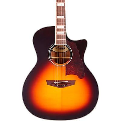 D'Angelico Premier Series Gramercy CS Grand Auditorium Acoustic-Electric Guitar