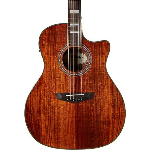 D'Angelico Premier Series Gramercy Koa Grand Auditorium Acoustic-Electric Guitar
