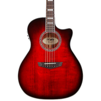 D'Angelico Premier Series Gramercy Single Cutaway Grand Auditorium Acoustic-Electric Guitar