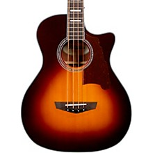 Premier Series Mott Single Cutaway Acoustic Bass with Onboard Preamp and Tuner Vintage Sunburst