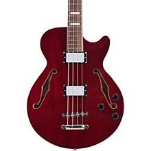 D'Angelico Premier Series Semi-Hollow Electric Bass Guitar with Stopbar Tailpiece