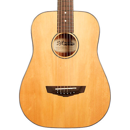 D'Angelico Premier Series Utica Mini Acoustic Guitar With Spruce Top Natural