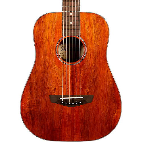 D'Angelico Premier Utica Mini Acoustic Guitar With Mahogany Arched Back