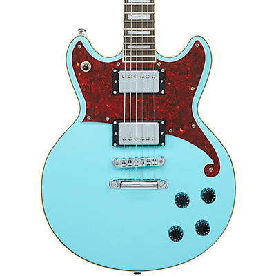 D'Angelico Premiere Series Brighton Solid Body Electric Guitar Double Cutaway Stopbar Tailpiece