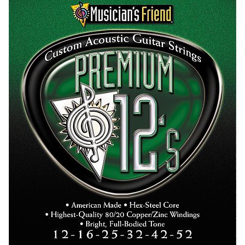 Musician's Friend Premium 12's Acoustic 10-pack