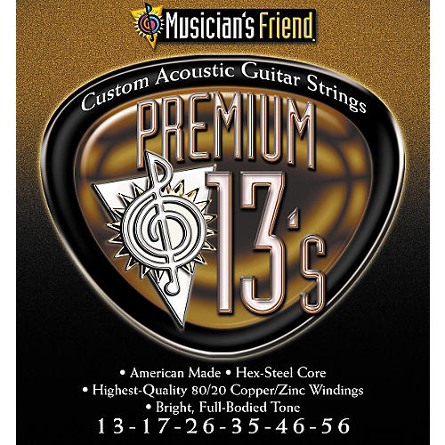 Musician's Friend Premium 13s Acoustic 3-pack