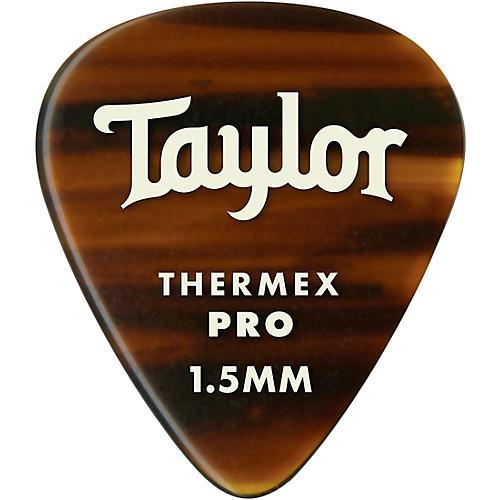 Taylor Premium 351 Thermex Pro Picks Tortoise Shell 6-Pack 1.5 mm 6 Pack
