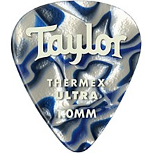 Taylor Premium 351 Thermex Ultra Picks Blue Swirl 6-Pack