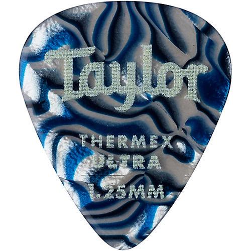 Taylor Premium 351 Thermex Ultra Picks Blue Swirl 6-Pack 1.25 mm 6 Pack
