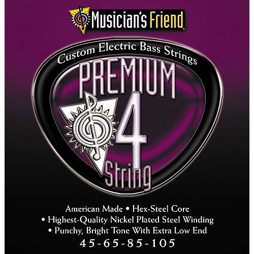 Musician's Friend Premium 4 String Nickel Electric Bass Strings