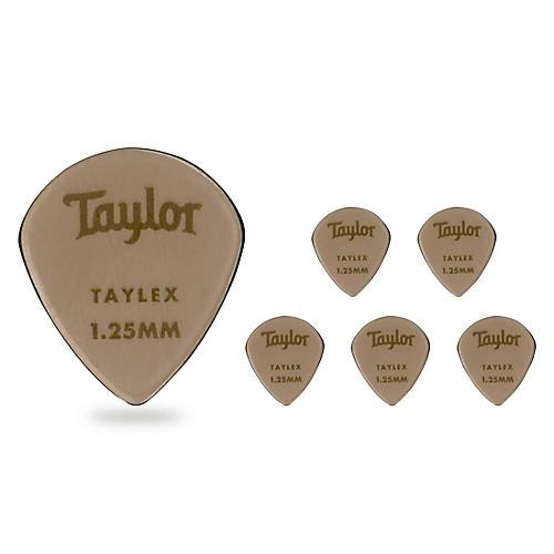 Taylor Premium 651 Taylex Picks 1.25 mm 6 Pack