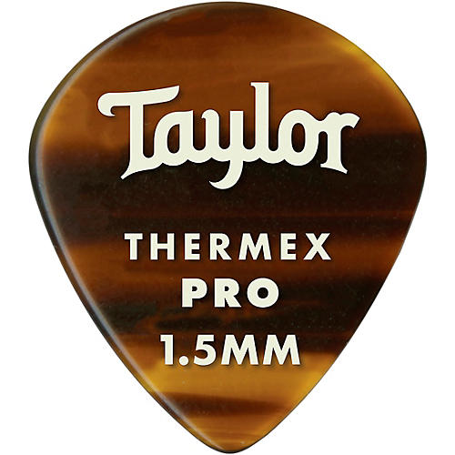 Taylor Premium 651 Thermex Pro Picks Tortoise Shell 6-Pack 1.5 mm 6 Pack