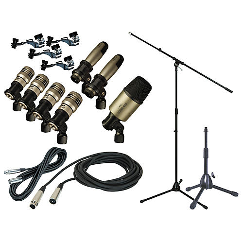 Cad 7 Piece Drum Mic Set Review : cad premium 7 piece drum mic kit with stand and cables musician 39 s friend ~ Russianpoet.info Haus und Dekorationen