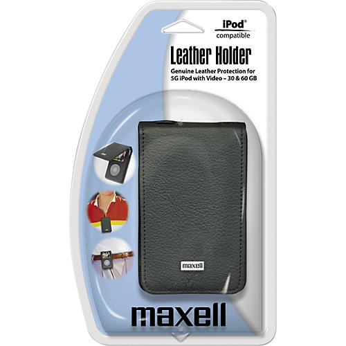 Maxell Premium Leather Case for Video iPod (5th Generation)