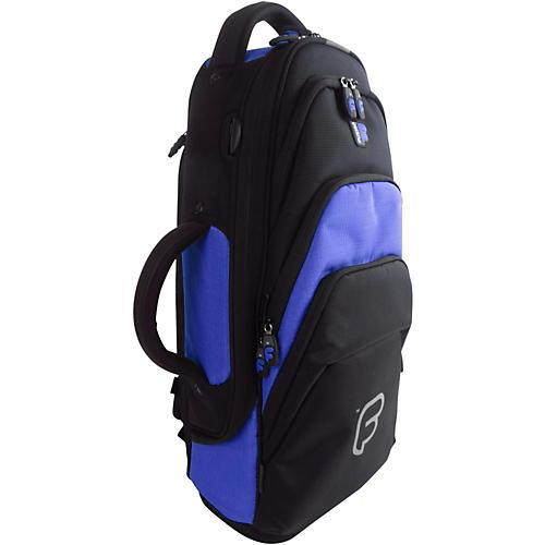 Fusion Premium Trumpet Bag Black and Blue