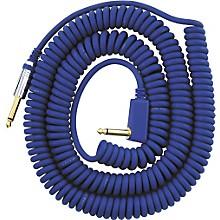 Premium Vintage Coil Guitar Cable Assorted Colors Blue 9 Meters