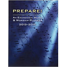 Carl Fischer Prepare! 2013-2014 Worship Services Planner (Book)