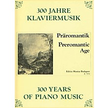Editio Musica Budapest Preromantic Age EMB Series Composed by Various