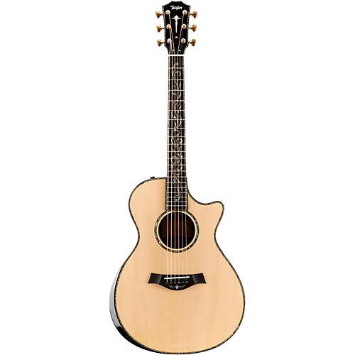 Taylor Presentation Series PS12ce Dreadnought Macassar Ebony Acoustic-Electric Guitar