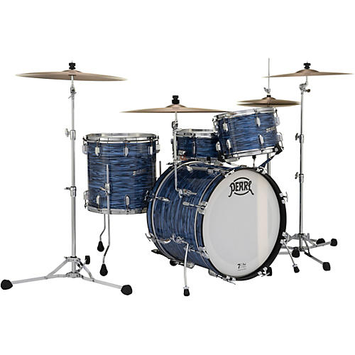 Pearl President Series Deluxe 3-Piece Shell Pack with 20 in. Bass Drum Ocean Ripple