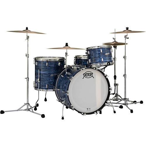Pearl President Series Deluxe 3-Piece Shell Pack with 22 in. Bass Drum Ocean Ripple