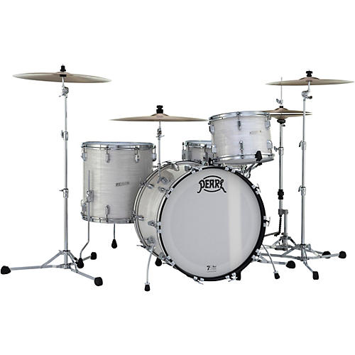 Pearl President Series Phenolic 4-Piece Shell Pack with Cases Pearl White Oyster