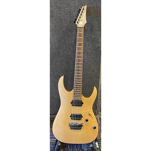 Ibanez Prestige RGA121-NTF Solid Body Electric Guitar Natural
