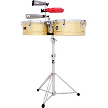 Open Box LP Prestige Series Brass Timbales
