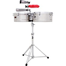 Prestige Series Stainless Steel Timbales 13 and 14 in.