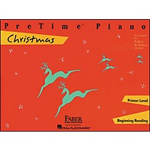 Faber Piano Adventures Pretime Piano Christmas Primer Level Beginning Reading - Faber Piano