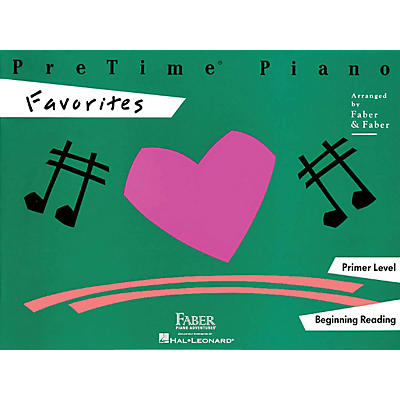 Faber Piano Adventures Pretime Piano Favorites Book Primer Level