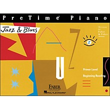 Faber Piano Adventures Pretime Piano Jazz & Blues Book Primer Level Beginning Reading - Faber Piano