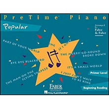 Faber Piano Adventures Pretime Popular Primer/Beginning Reading
