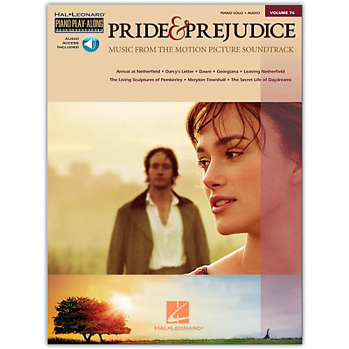 Hal Leonard Pride & Prejudice - Music From The Movie Soundtrack - Piano Play-Along Volume 76 (Book/Online Audio)