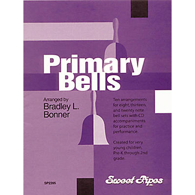 Rhythm Band Primary Bells - 10 Arrangements for Handbells & Deskbells Book with CD