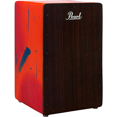 Pearl Primero Cajon in Abstract Red