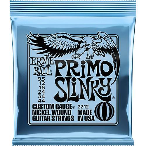 Ernie Ball Primo Slinky Nickel Wound Electric Guitar Strings  Gauge 9.5 - 44