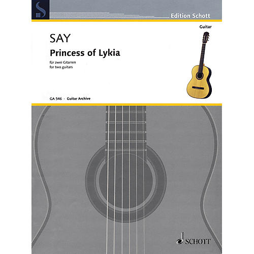 Schott Princess of Lykia (for Two Guitars) Guitar Series Softcover