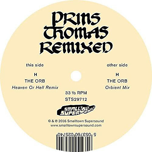 Alliance Prins Thomas - The Orb Remixes